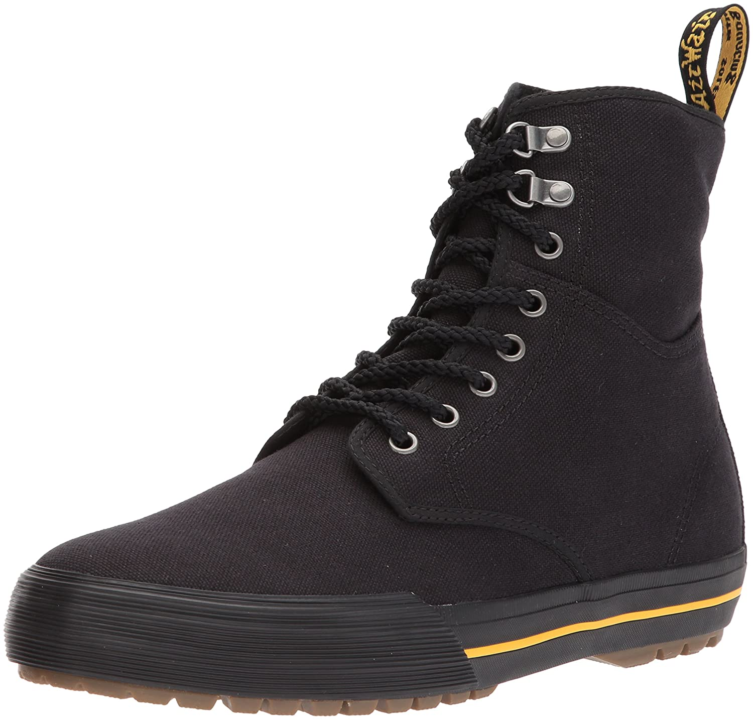 Dr. Martens Winsted Black Canvas Fashion Boot B01MY3EC1G 12 Medium UK (US Men's 13 US)|Black