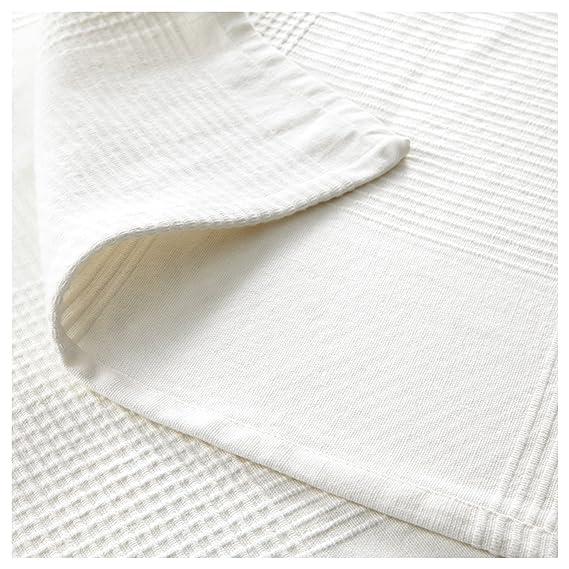 IKEA INDIRA - Colcha, blanco - 250x250 cm: Amazon.es: Hogar