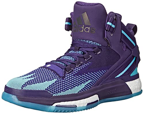 2d0e1e380fd8 adidas Performance Men s D Rose 6 Boost Primeknit Basketball Dark  Purple Blast Purple Blue 10.5 D(M) US  Buy Online at Low Prices in India -  Amazon.in