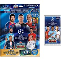 $29 » 2019-20 Topps Match Attax Champions League Cards - Starter Pack + 1 BONUS 5 CARD PROMO PACK (Album, 17 Cards + LIMITED EDITION GOLD…