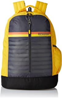 American Tourister 28 Ltrs Yellow Casual Backpack (AMT PING Backpack 01 -  Yellow) cb3b2512db646