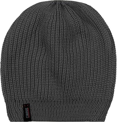 CINQUE Damen Mütze Cizoe Schurwollmix Accessoire Unifarben, Größe: Onesize, Farbe: Grau