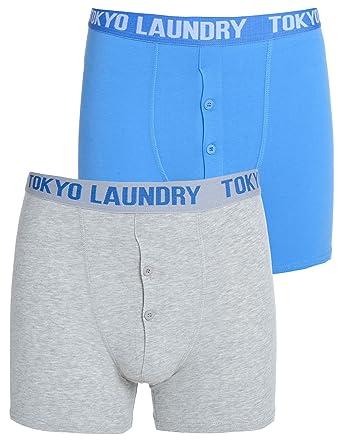 Tokyo Laundry Mens Harecourt 2 Pack Boxer Shorts Stretch Fit Pants Underwear Set