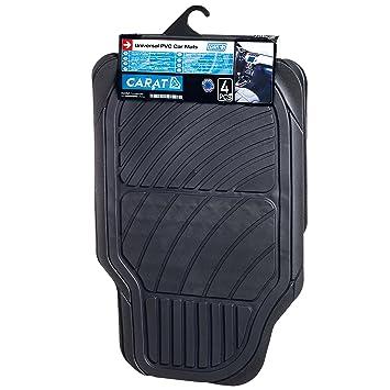 Amazon.es: SUMEX Carat20 - Alfombra Goma Universal Carat, Color Negro, 4 Piezas
