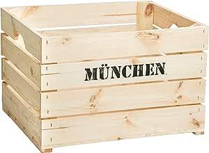 Caja de fruta Johanna, tamaño aprox. 50 x 40 x 30 cm, caja de ...