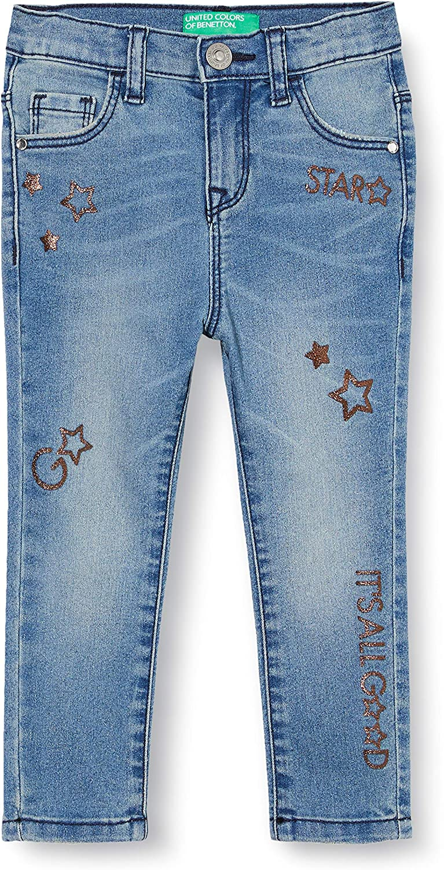 United Colors of Benetton Jeans Pantalones para Beb/és