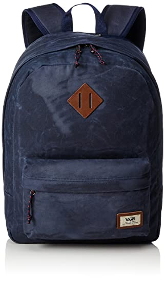 Vans Old Skool Plus Backpack Rucksack, 44 cm, 23 L, Dress blaus Heather