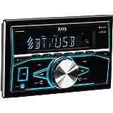 BOSS Audio 820BRGB Double Din, Bluetooth, MP3/USB/SD AM/FM Car Stereo,   Wireless Remote, Multi Color Illumination, (No CD/DVD)