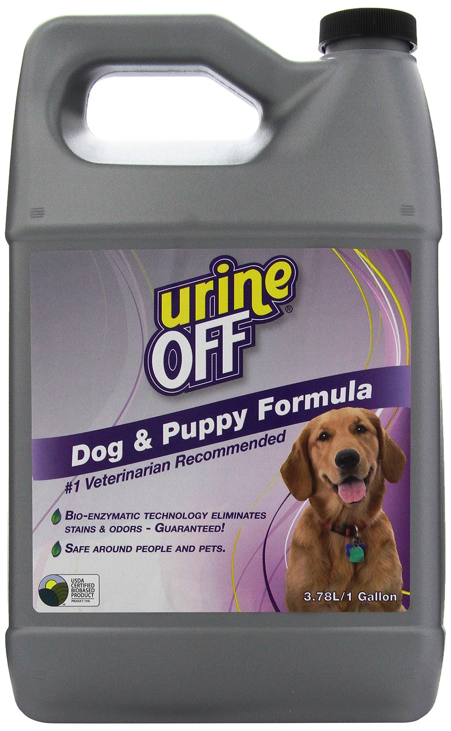 Urine Off Odor and Stain Remover Dog Formula, 1 Gallon