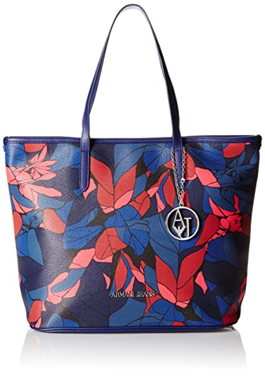 8e768f74a910 Armani Jeans 9220286A714 Damen Shopper 29x17x42 cm (B x H x T), Blau ...