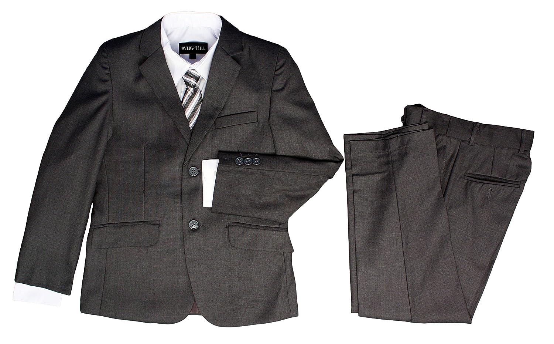 Amazon.com: Avery Hill Boys Formal 5 piezas Traje con camisa ...
