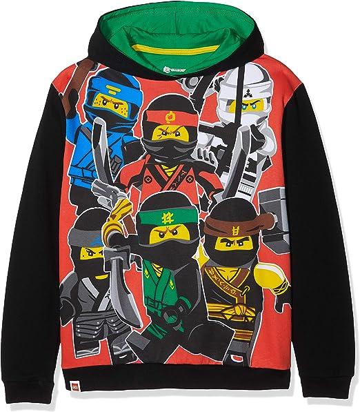 LEGO Boys Mwb-Sweatshirt Ninjago
