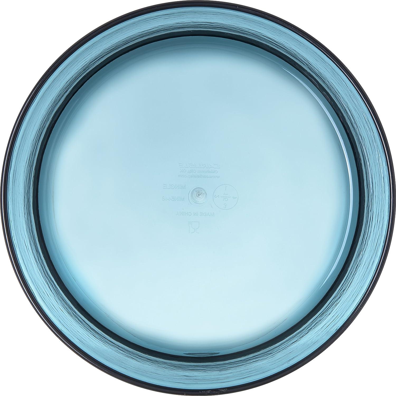 Tritan Teal 10 Carlisle MIN544615 Mingle Serving Bowl Pack of 4