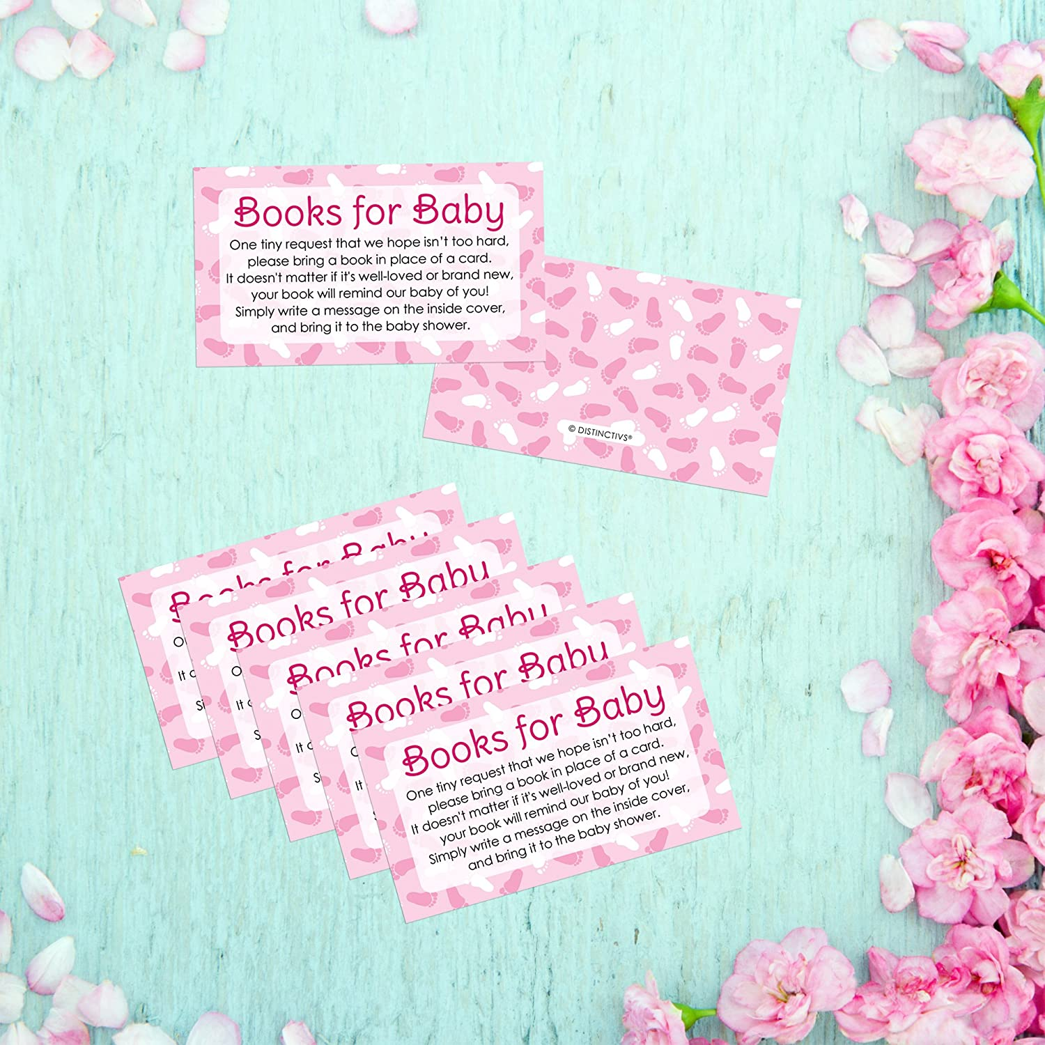 Amazon Books for Baby Request Cards Girl Baby Shower