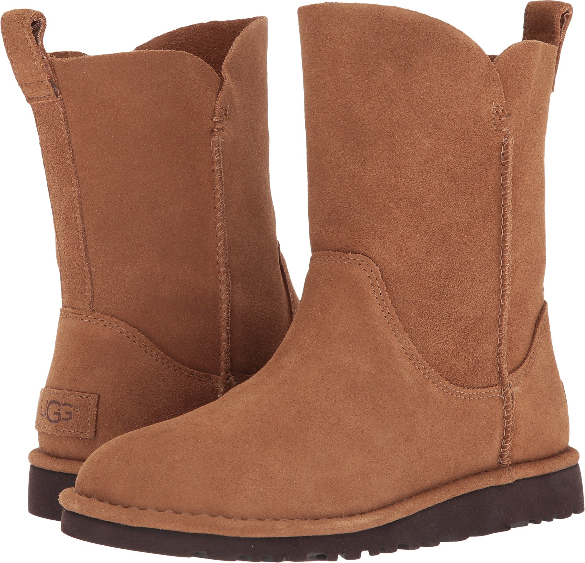 UGG Women's Alida Slouch Boot,Chestnut,8 M US