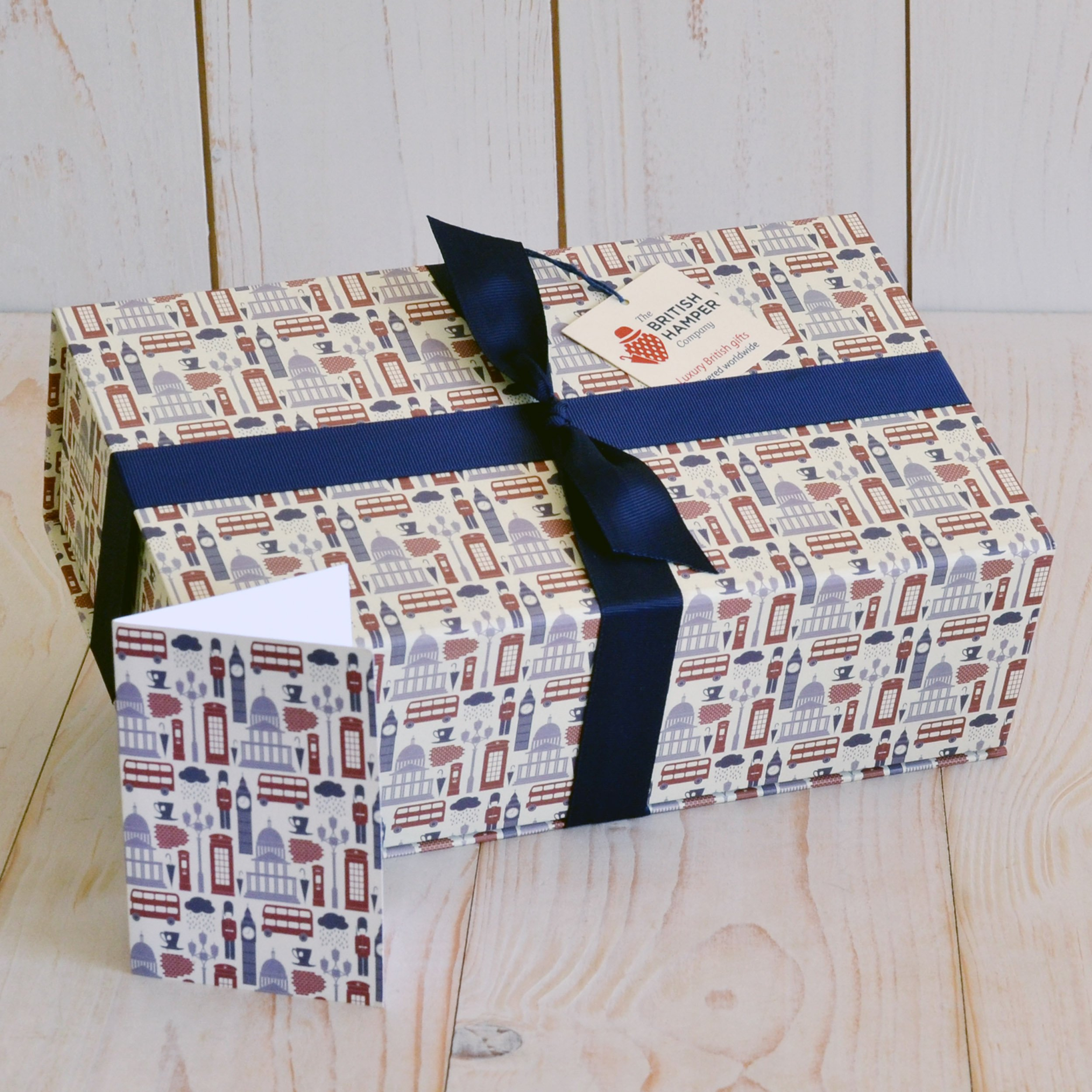 British Afternoon Tea for Two Gift - Gourmet Food Basket - Gift Card Included by The British Hamper Company (Image #3)