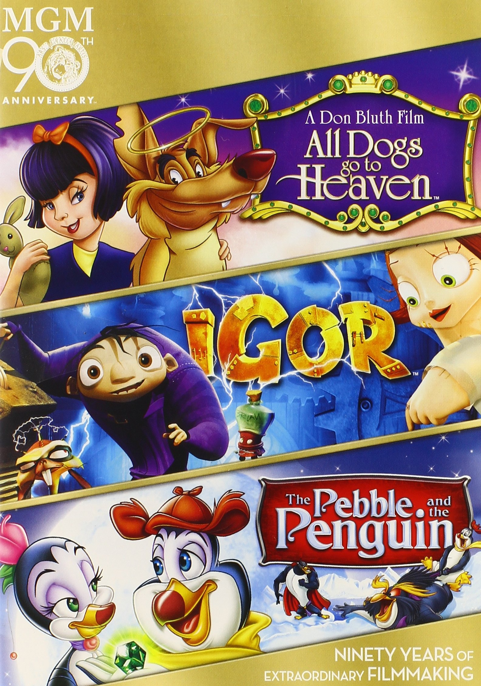 Mgm 90 Igor+all Dogs+pebb Tf by MGM (Video & DVD)