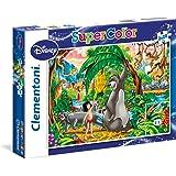 Disney - Puzzles, 2 x 20 piezas, diseño Peter Pan/El Libro de la Selva (Clementoni 247394)