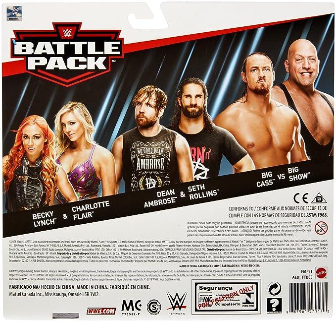 WWE Dean Ambrose vs Seth Rollins 2-Pack