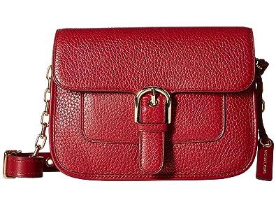 61dd0a0062fd MICHAEL Michael Kors Women's Cooper Medium Messenger Cherry Crossbody Bag