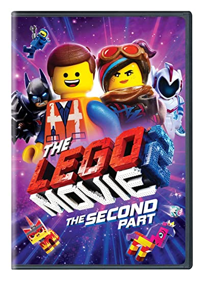 LEGO Movie 2 on DVD ONLY $9.99...