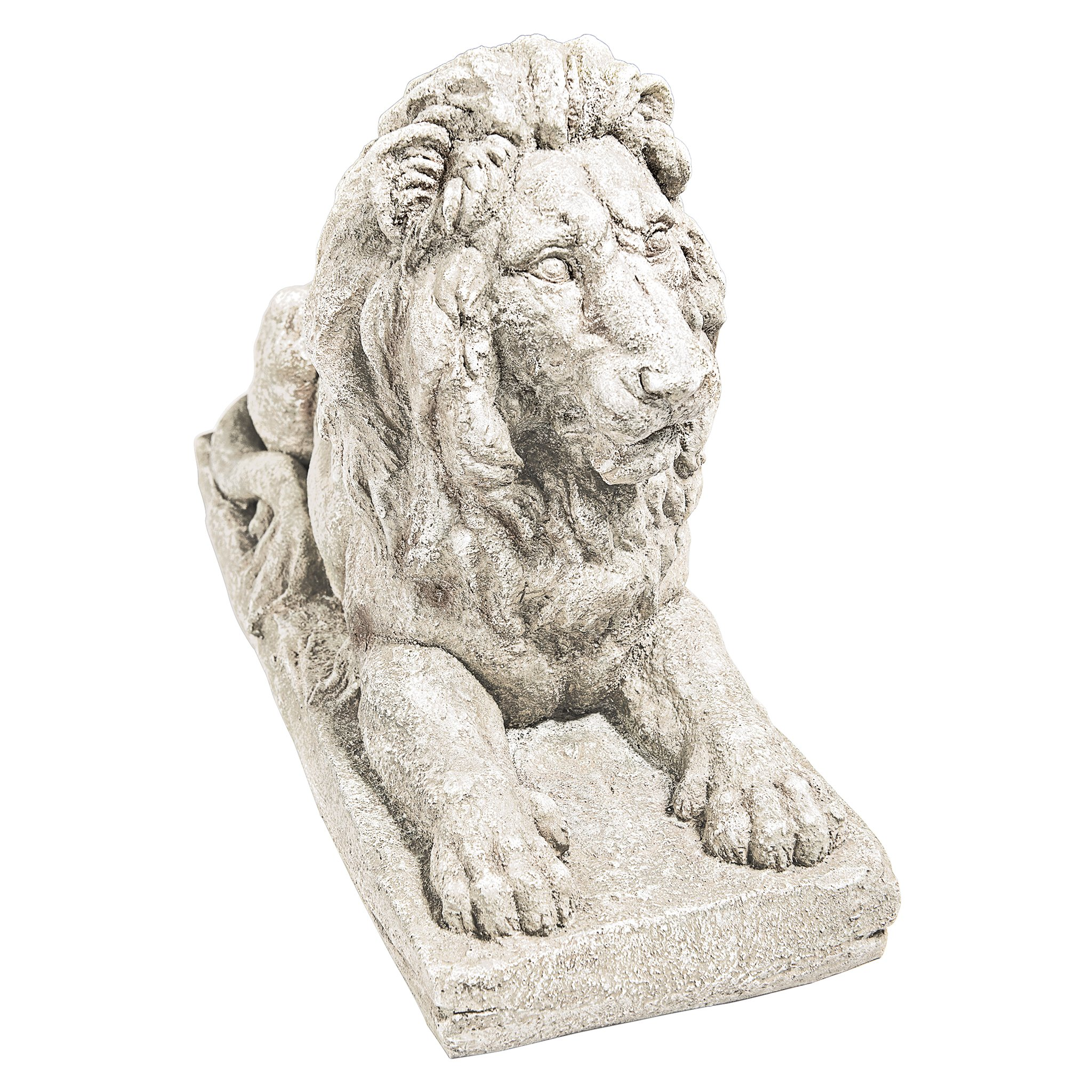 Design Toscano Lyndhurst Manor Lion Sentinel Statue: Set of Two
