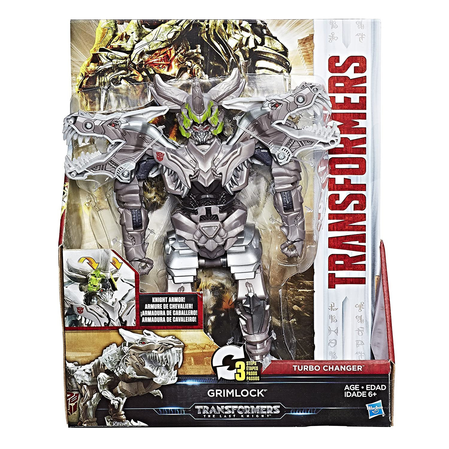 Transformers The Last Knight Armor Turbo Changer Grimlock Rex Manufacturing Transformer Wiring Diagram Toys Games