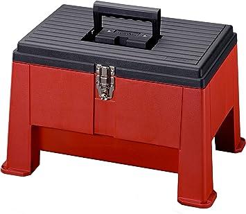 Stack-On SSR-20 Step N Stor, color rojo: Amazon.es: Bricolaje y herramientas