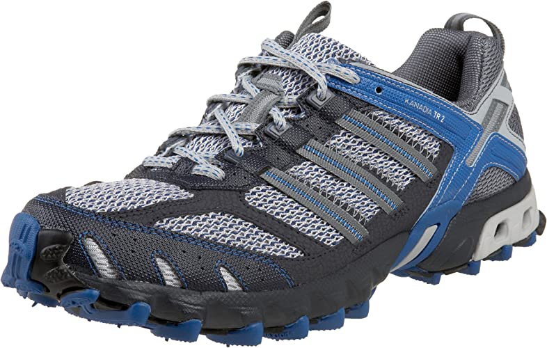 ADIDAS ADID MS KANADIA - G00185 GREY/SILVER/BLUE-9-M: Amazon.es: Zapatos y complementos