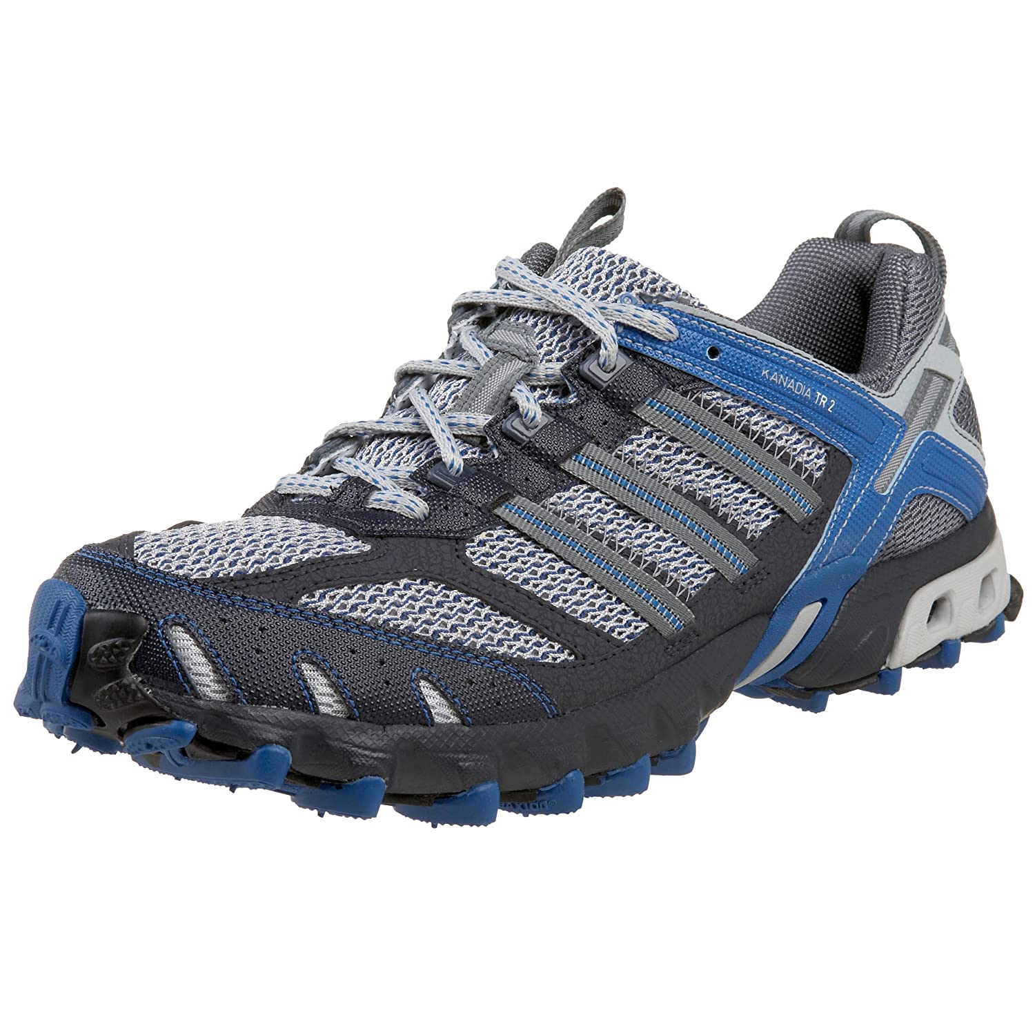 more photos 32f3f 184a8 Amazon.com  adidas Mens Kanadia Trail 2 Running Shoe, Lt OnixLeadSteel,  9 M  Trail Running