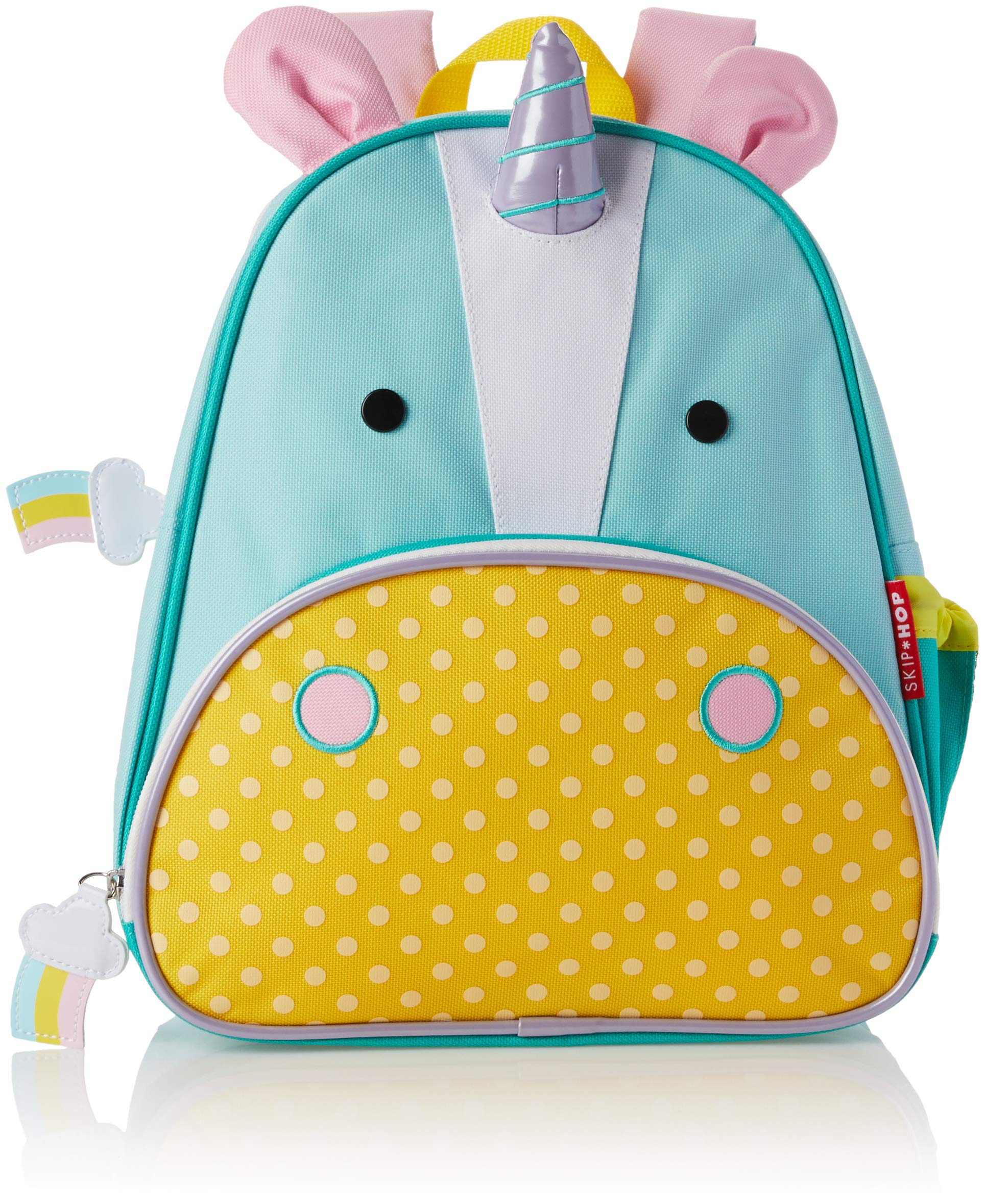 Skip Hop Toddler Backpack, 12'' Unicorn School Bag, Multi