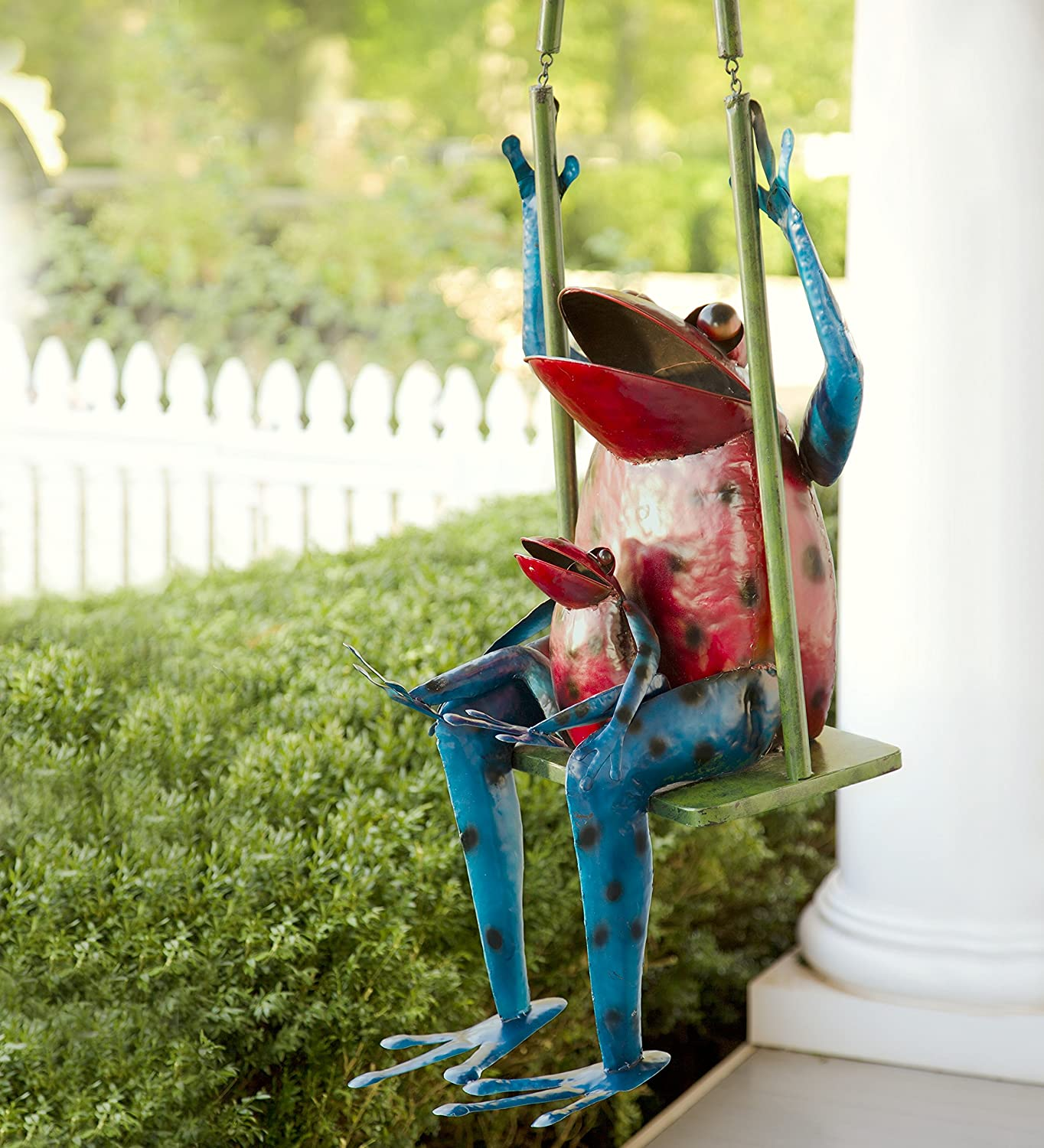 Large Swinging Frogs