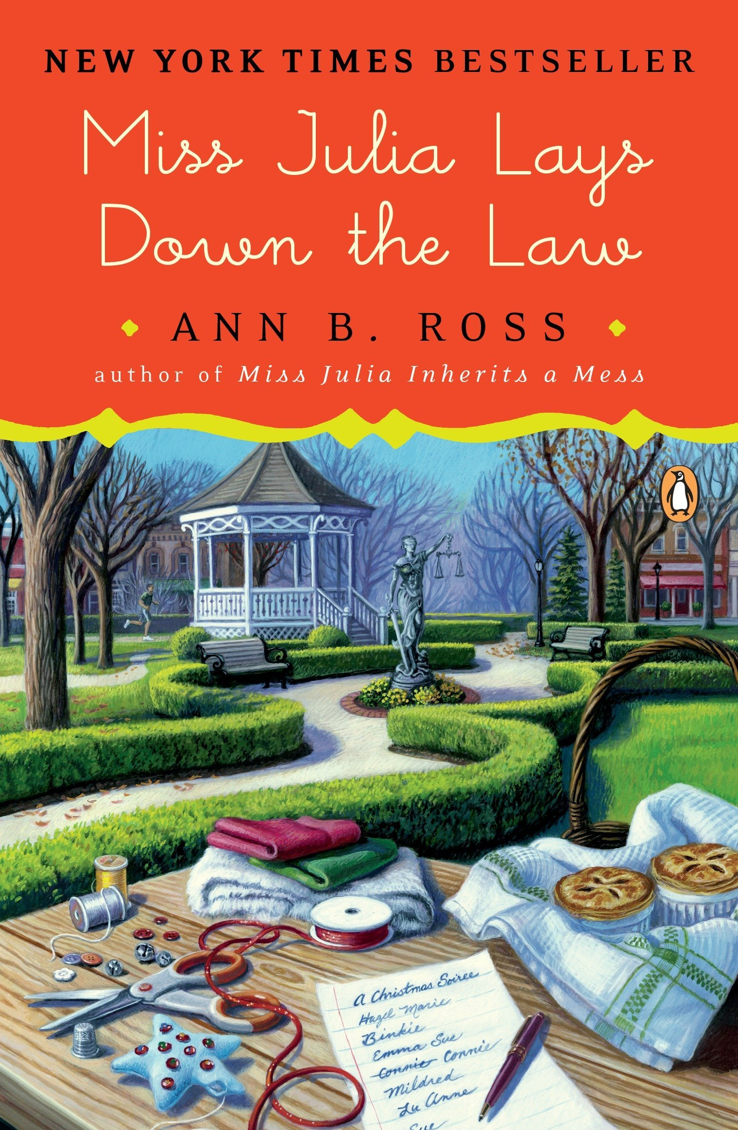Read Online Miss Julia Lays Down the Law: A Novel pdf