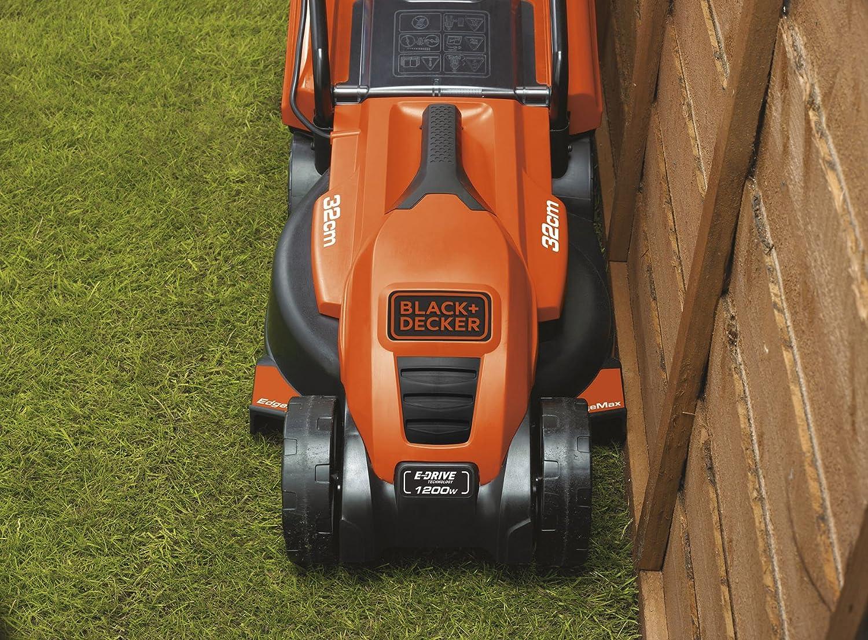 Black+Decker EMAX32S-QS - Cortacésped 1200W 32cm