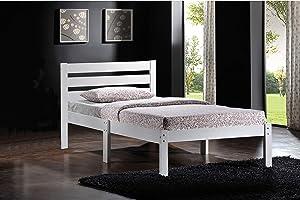 ACME Furniture Donato Bed, Twin, White