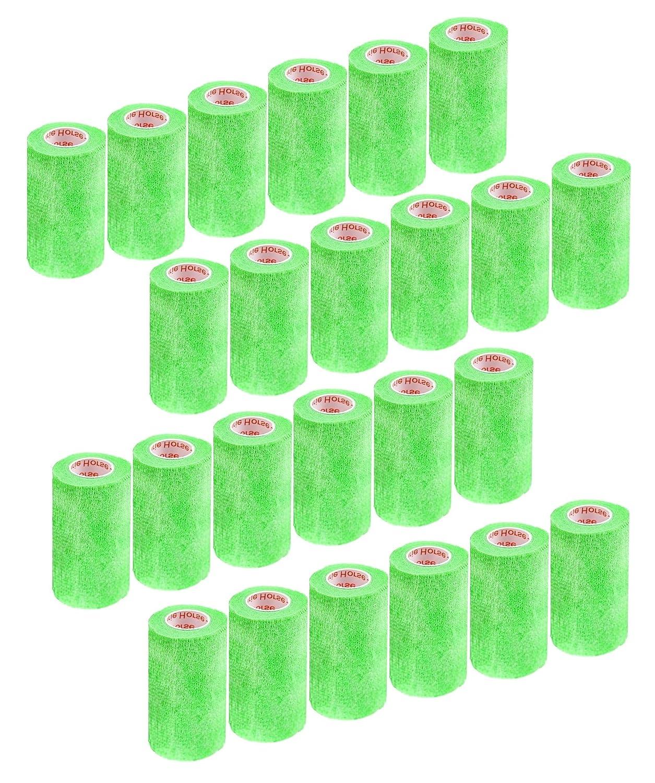 4 Inch Vet Wrap Tape Bulk (Assorted Colors) (6, 12, 18, oder 24 Packs) Self-Adhesive selbst Adherent Adhering Flex Bandage Rap Grip Roll für Hund Katze Pet Horse