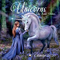Unicorns by Anne Stokes 2020 Calendar