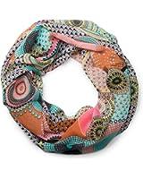 styleBREAKER Ethno Punkte African Style Loop Schlauchschal 01016014