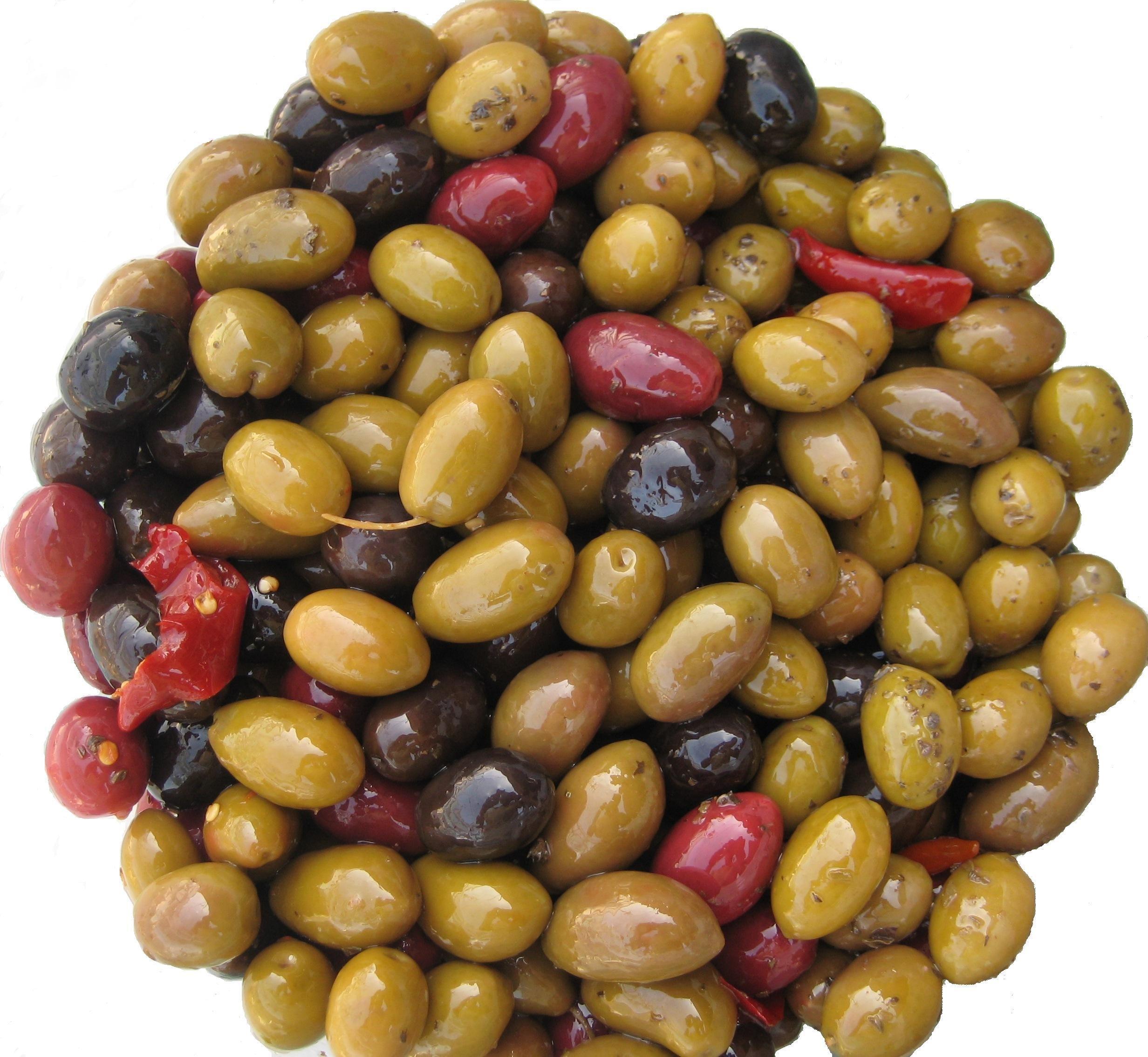 Olio&Olive Italian Mini Olive Snack Variety Sampler Pack 6x4oz.
