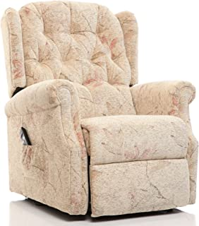 The Oldbury - Riser Recliner / Lift u0026 Tilt Chair in Beige Fabric  sc 1 st  Amazon UK & Riva Dual motor electric riser and recliner chair - choice of ... islam-shia.org