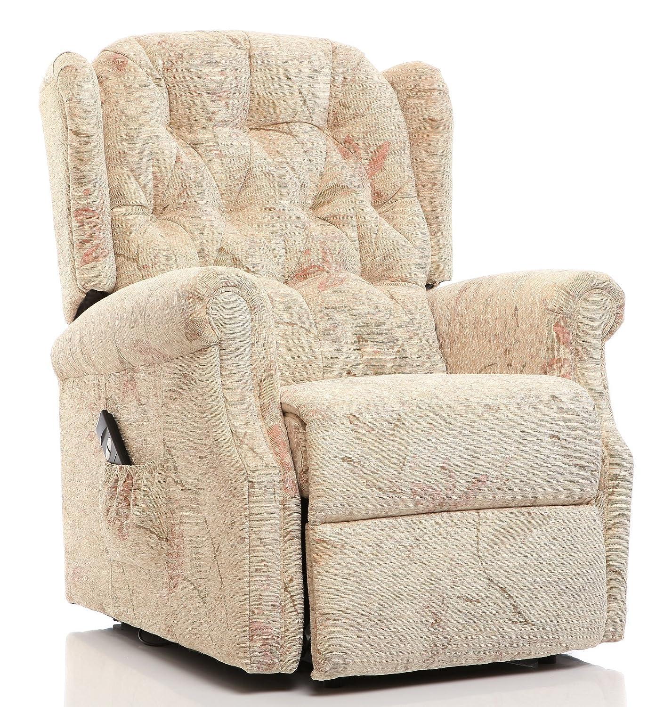 The Oldbury - Riser Recliner / Lift u0026 Tilt Chair in Beige Fabric Amazon.co.uk Kitchen u0026 Home  sc 1 st  Amazon UK & The Oldbury - Riser Recliner / Lift u0026 Tilt Chair in Beige Fabric ... islam-shia.org