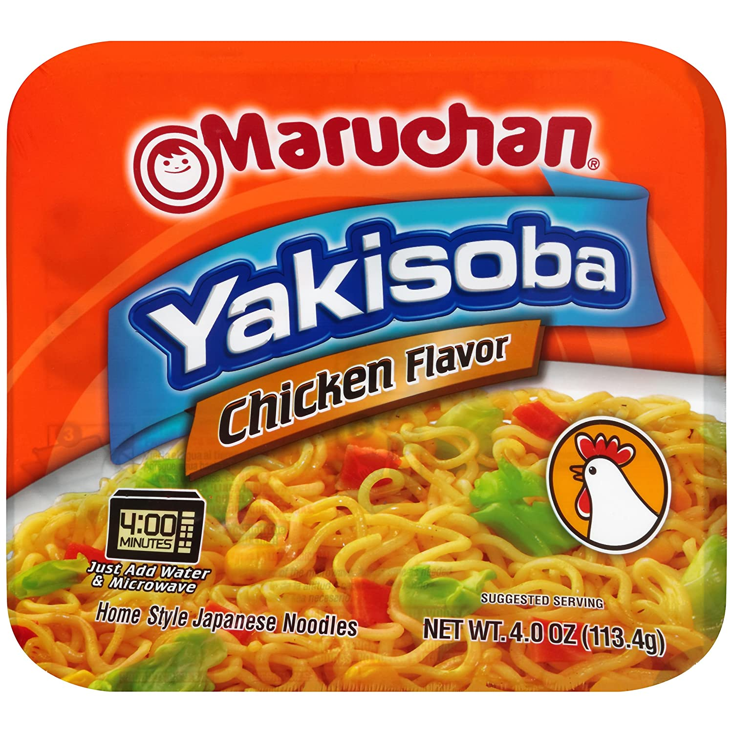 Amazon maruchan yakisoba chicken 400 oz pack of 8 amazon maruchan yakisoba chicken 400 oz pack of 8 prepared noodle bowls grocery gourmet food forumfinder Choice Image