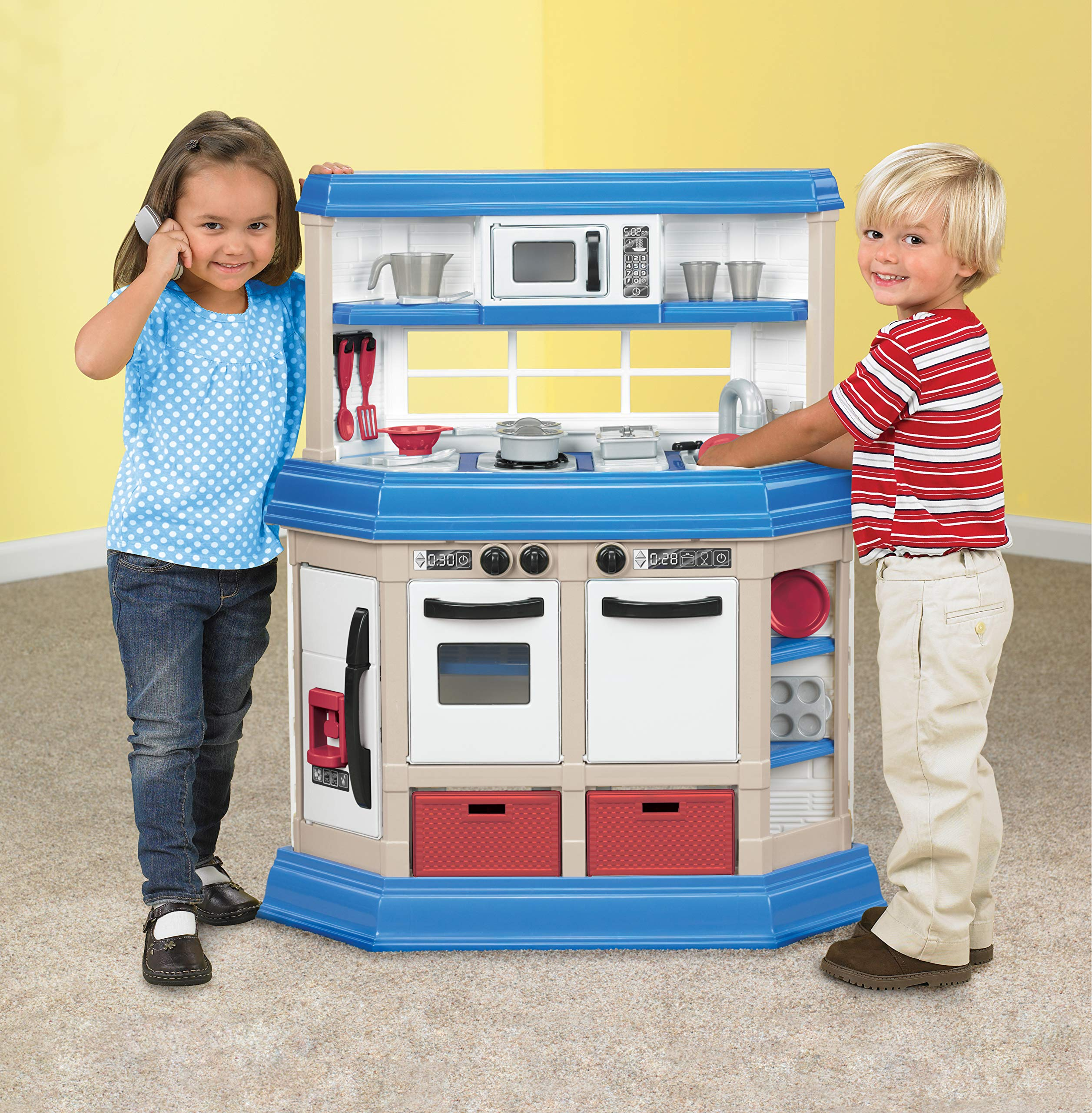 American Plastic Toys Cookin' Kitchen by American Plastic Toys (Image #2)
