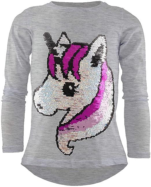 3daf1349c Camiseta de Manga Larga de algodón con Lentejuelas