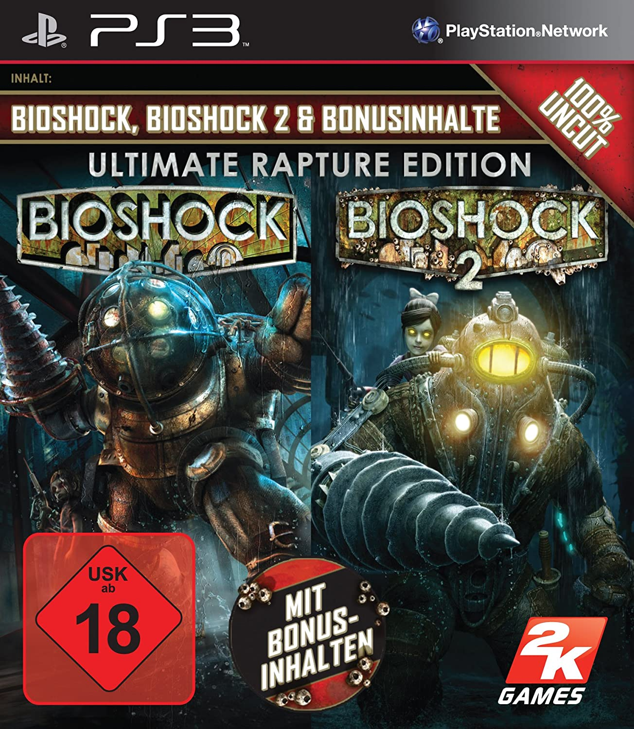 BioShock - Ultimate Rapture Edition [Importación Alemana]: Amazon.es: Videojuegos