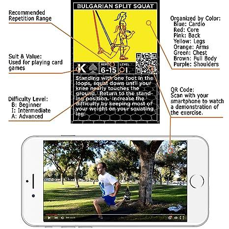 Tarjetas de suspensión de ejercicio por Stack 52.: Amazon.es: Juguetes y juegos