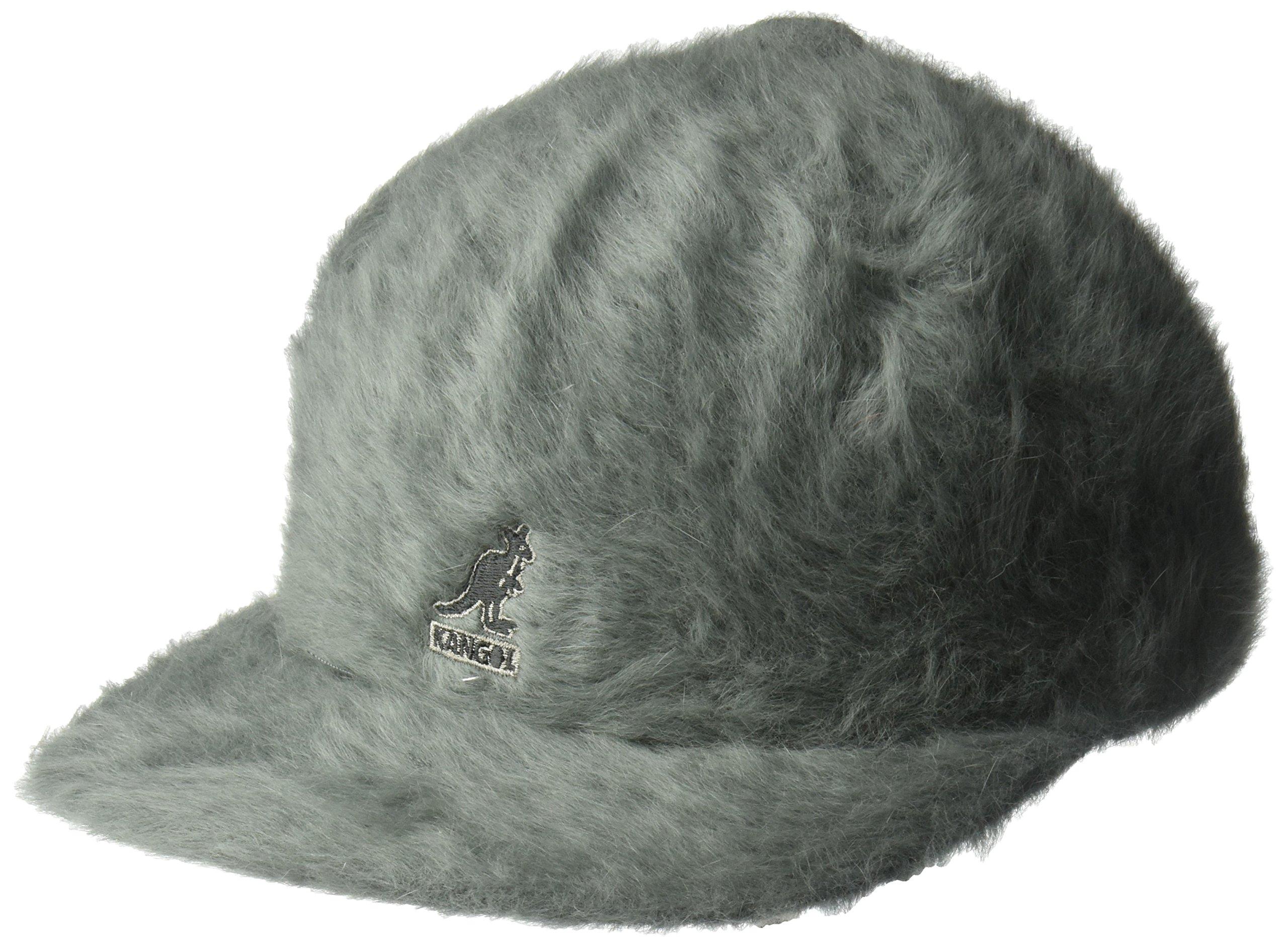 Kangol Unisex-Adult's Furgora Links Flat Brim Baseball, Slate Grey, L