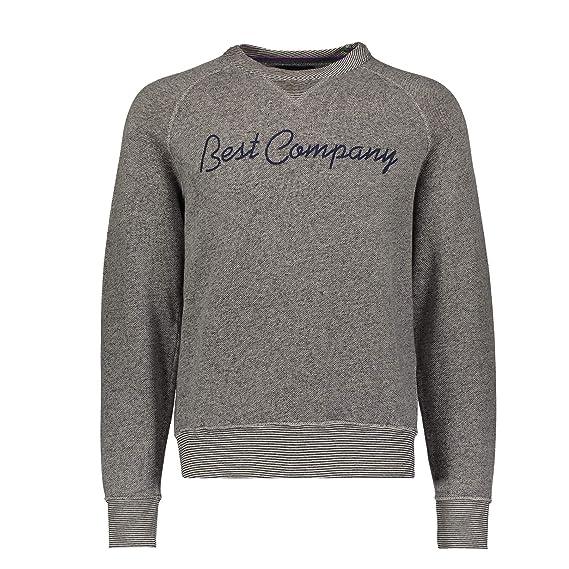 BEST COMPANY Rundhals-Sweatshirt (M)  Amazon.co.uk  Clothing d53c18c8aa2a