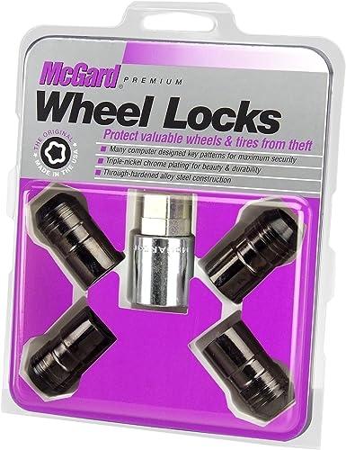 McGard 24216 Black Cone Seat Wheel Locks