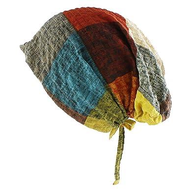 Morehats Bohemian Cotton Head Scarf Chemo Cap Women Cancer Patients Packable Hat